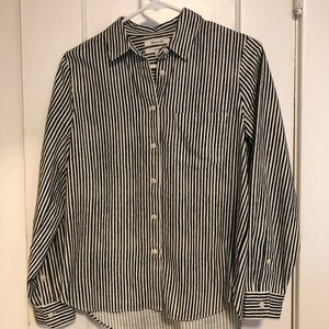 Madewell Flannel button up shirt